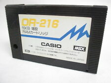 MSX 16KB EXPANSION RAM OR-216 Cartridge only Japan Video Game msx