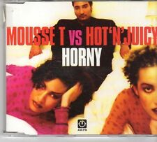 (EW122) Mousse T VS Hot 'N' Juicy, Horny - 1998 CD