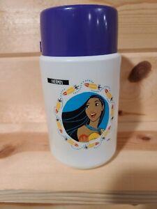 Walt Disney Pocahontas Plastic Lunch Box Thermos Bottle