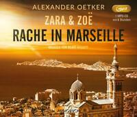 ZARA UND ZOE-RACHE IN MARSEILLE - RYSOPP,BEATE   MP3 CD NEW