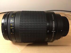 Nikkor AF 70-300 F4-5.6G (no VR model)