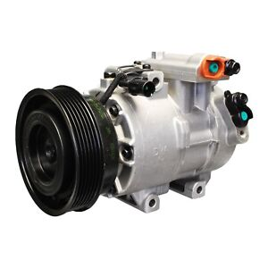 For Kia Forte Koup 2010-2013 A/C Compressor and Clutch Denso 471-6024