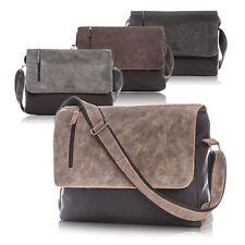 Leather Shoulder Messenger Men`s Bag Paolo Peruzzi Vintage