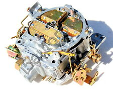 1973 ROCHESTER QUADRAJET 4MV CARBURETOR CHEVY 350 5.7 LIKE EDELBROCK 1901 SILVER
