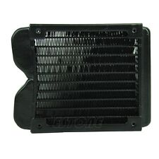 120mm G1/4 Aluminum Computer Radiator Water Cooling Cooler Fr LED CPU Heatsink