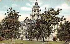 Saint Joseph Michigan Court House Street View Antique Postcard K33028
