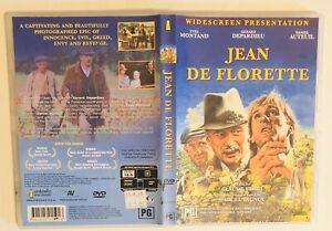Jean De Florette (Region 4 DVD / Yves Montand / Claude Berri 1986) Free Postage
