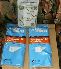 (12) Electrolux Type R Vacuum Bags & (2) Filters New.