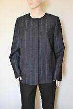 MARINA RINALDI by MAX MARA, Wool&Linen Blazer, Size 25 MR, 16W US, 46 DE, 54 IT