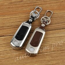 2 Button Smart Key Case Fob Bag Holder Box Cover For Mazda 2 3 CX3 CX4 CX-4 CX5