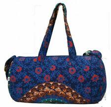 Indian Hippie Duffle Bags Travel Gym Sports Ombre Mandala Cotton Handbag Throw