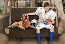 PET CAT DOG KIDS CARGO CAR BENCH SEAT COVER PROTECTOR MAT WASHABLE BLANKET MOCHA