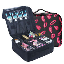 Professional Large Make Up Bag Vanity Nail Case Cosmetic Tech Travel Storage Box