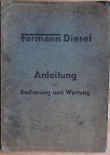 Farymann Diesel Motor Bedienung und Wartung