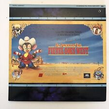An AMERICAN TAIL FIEVEL GOES WEST Laserdisc (SP, 75 Minutes, 1992)
