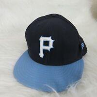 New Era Pittsburgh Pirates Fitted Baseball Hat Men's - 7 3/4