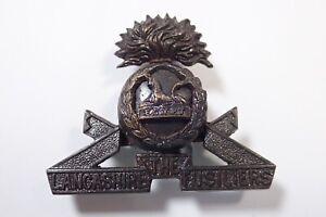 The Lancashire Fusiliers original Officers Service Dress Cap Badge.