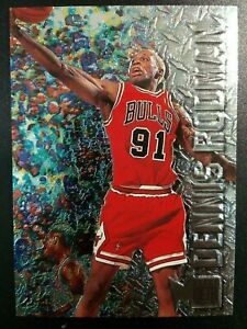 1996-97 FLEER METAL - DENNIS RODMAN #15 - MINT!