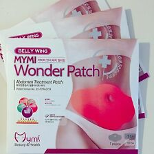 5 Patches in Retail box MYMI Korea Wonder Patch Burn Belly Fat Wing Lose Weight