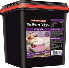 Naarmann Waldrucht Pudding mit Sahne verfeinert servierfertig 5000g