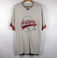 Arizona Wildcats NCAA T-Shirt Football Baseball V-neck XL