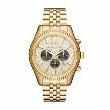 MICHAEL KORS MK8494 Lexington Gold Tone Chronograph Men's Watch