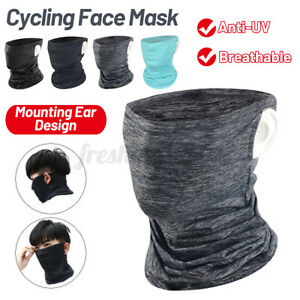 Cooling Neck Gaiter Tube Scarf Face Mask Bandana for Motorcycle Cycling