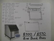 40-1121-9 Ice Deflector for Ice Bins Mod B400 or B570 P/N 4011219
