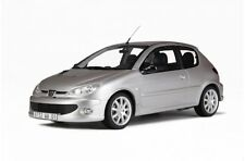 OTTO MOBILE 140 PEUGEOT 206 GT resin model road car, grey body, 1:18th scale