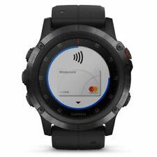 Garmin Fenix 5X Plus  Sapphire Edition GPS Watch, One Size - Black