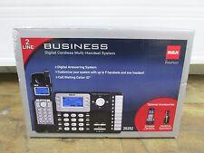 BRAND NEW RCA 25252 DECT 6.0 1.9 GHz 2 Lines Cordless Phone Duplex Speakerphone