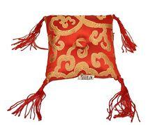 Tibetan Singing Bowl Cushion - Red