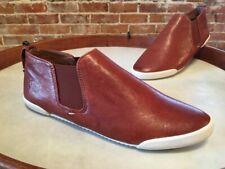 Frye Cognac Brown Distressed Leather Melanie Chelsea Sneaker Bootie 10 New Sale