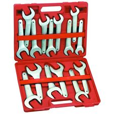 15 PIECE METRIC FARMER STYLE SERVICE WRENCH SET 20MM-36MM