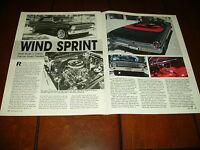1964 FORD SPRINT   ***ORIGINAL 1991 ARTICLE***
