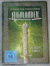 Highlander - STAGIONE SERIE 3 Tre COMPLETO DVD COFANETTO NUOVO & SIGILLATO