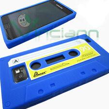 Custodia silicone BLU per Samsung Galaxy S2 i9100 e S2 Plus Cassetta morbida