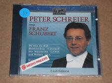 PETER SCHREIER SINGT FRANZ SCHUBERT - CD SIGILLATO (SEALED)