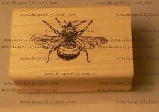 Bumble bee rubber stamp WM P23