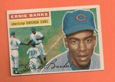 1956 Topps #15 Ernie Banks Cubs Clean card