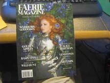 NEW Faerie Magazine Spring 2017 Issue No. 38 Warriors & Goddesses Alice Hoffman