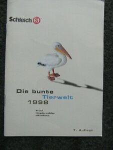 Schleich - Katalog - Prospekt - Werbeheft von 1998 Die Bunte Tierwelt