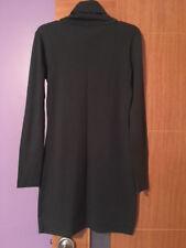NWOT Diane von Furstenberg Sweater Dress Dark Gray Wool Size M