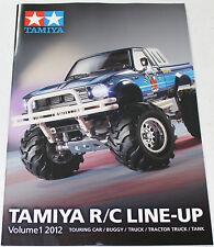 Tamiya RC Line-up Catalog 2012 #64372