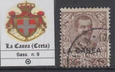ITALY - LA CANEA (Creta) Sassone n.9 used