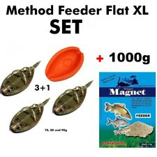 METHOD FEEDER SET XL bis 90g + 1 Kg  Feeder-Spezial 10190