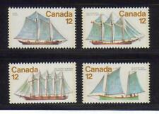 1977 Canada SC# 744-747 - Sailing Vessels Lot# 96 M-NH