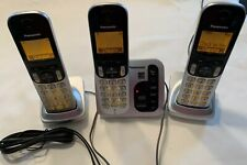 Panasonic KX-TG433SK 3 Cordless Handset Phone & Answering