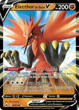 Pokemon Regne de Glace EB06 VF 80/198 Électhor de Galar-V Holo rare V Epee et B