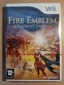 Fire Emblem Radiant Dawn Wii Neuf Blister Pal Fr